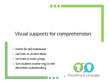 Visual Supports for Comprehension