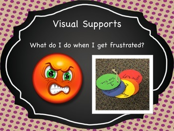 Visual Supports for Frustration