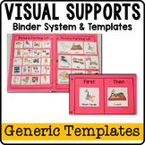 Visual Supports Binder System {Starter Kit}