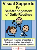Visual Supports for Self-Management of Daily Routines