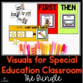 Visual Supports for Special Education Students: Schedule cards & visual supports
