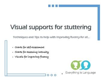 Visual Supports for Stuttering