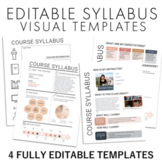 Visual Syllabus Doodle Template + Design Your Own Syllabus Video Tutorial