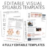 Visual Syllabus Doodle Template + Design Your Own Syllabus