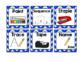 Visual Symbols for Classroom Directions: Blue Chevron
