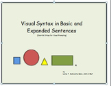 Visual Syntax in Basic and Expanded Sentences