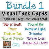 Visual Task Card *BUNDLE* for special education