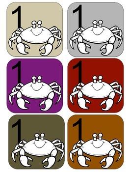 Sea Creature Themed Center Schedules