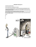 Visual Text OPTIC Analysis Graphic Organizer with Steve Jobs Cartoon