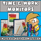 Visual Time & Work Monitor:Help Students (Autism, Aspergers) Cope w/Transitions