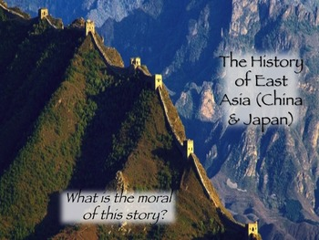 AP World Visual Timeline of the History of East Asia
