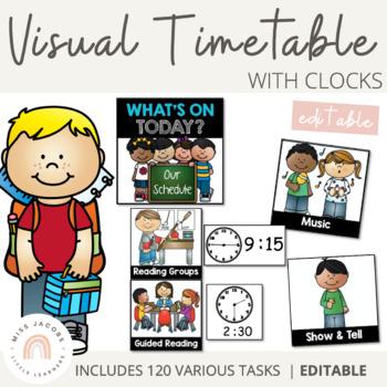 Visual Timetable - Editable