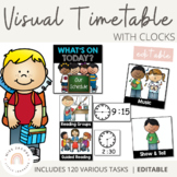 Visual Timetable | Includes Editable spares