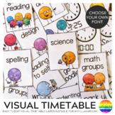 DOT DUDES Visual Timetable Editable Portrait Cards