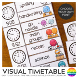 DOT DUDES Visual Timetable Editable Rectangular Cards