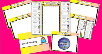 Visual Timetable and Day book for IWB. *** Back to School Special***