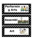Visual Timetable with PYP Units of Inquiry