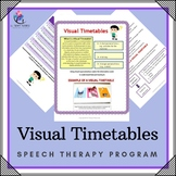 Visual Timetables - Supporting children with Autism - 5 pages