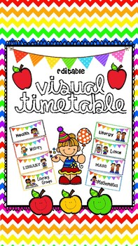 Visual Timtable Cards