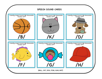 Visual Tools for Articulation Therapy (Syllable Level) SLP Speech Therapy
