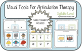 Visual Tools for Articulation Therapy (Syllable Level) SLP