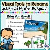 Visual Tools to Rename a Calm Down Corner