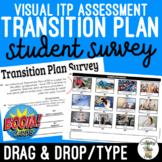 Visual Transition Plan (ITP) Student Survey Boom Cards