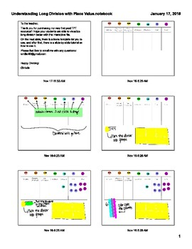 Visual Understanding of Long Division