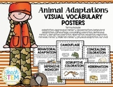 STEM Visual Vocabulary Posters - Adaptations for Survival