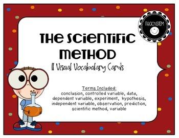 STEM Visual Vocabulary Cards - The Scientific Method