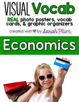 Visual Vocabulary - Economics {Tier-Three Vocab Resources with REAL Photos!}