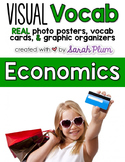 Visual Vocabulary - Economics {Tier-Three Vocab Resources