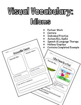 Visual Vocabulary: Idioms