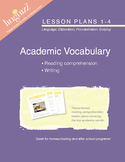 Visual Vocabulary and Reading Comprehension Lesson Plans 1-4