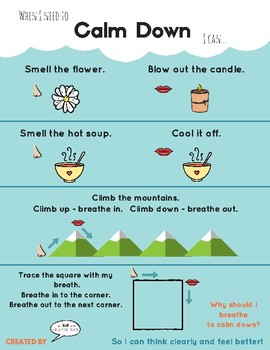 Visual Ways to Calm Down