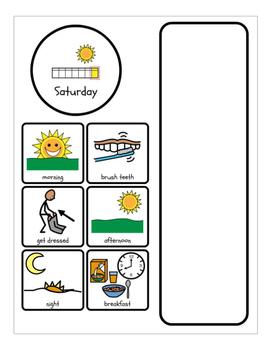 Visual Weekly Schedule Bundle