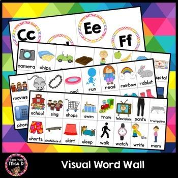 Visual Word Wall