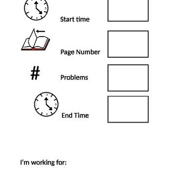 Visual Work Schedule