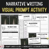 Visual Writing Prompt Package (Sample narrative & annotati
