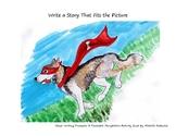Visual Writing Prompt: Superdog