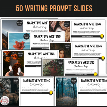 Visual Writing Prompts - **Fall / Autumn Edition**