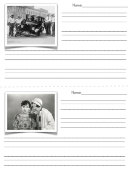 Visual Writing Prompts- Black and White Historic