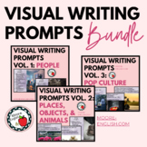 Visual Writing Prompts Bundle (150 images, 450+ questions)