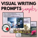 Visual Writing Prompts Sampler (12 images, 45+ Questions)