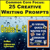 Visual Writing Prompts for the Common Core