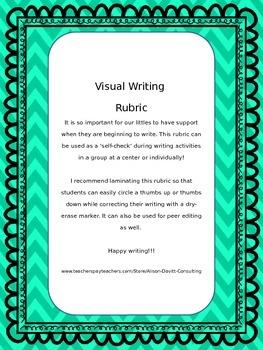 Visual Writing Rubric