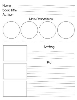 Visual & Writing Story Map 2 (Plot) -HWT