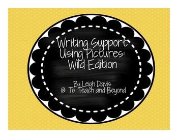 Visual Writing Support: Wild Animal Edition