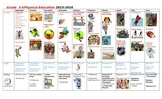 Visual Year Outline for Physical Education - Free