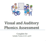 Visual and Auditory Phonics Assessment- Complete Set